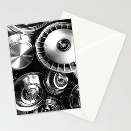 Hubcaps Stationery Cards