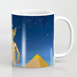 Ancient Vulcan Space Alien Coffee Mug