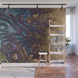 fractal art artwork globular Wall Mural