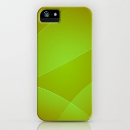 Olive, Lima & Limeade Colors iPhone Case
