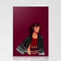 archer Stationery Cards featuring Archer by shirley