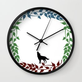 The Wolves of Mercy Falls Wall Clock
