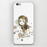 chibi iPhone & iPod Skins featuring Chibi Bilbo by KuroCyou