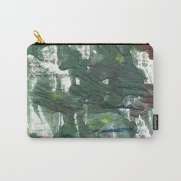 Feldgrau abstract watercolor Carry-All Pouch