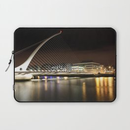 Samuel Beckett Bridge, Dublin Laptop Sleeve