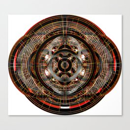 The Resonant Frequencies of Hell Canvas Print