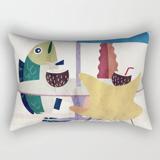 Fischzeit Rectangular Pillow