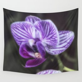 Soft Purple orchid flower Wall Tapestry