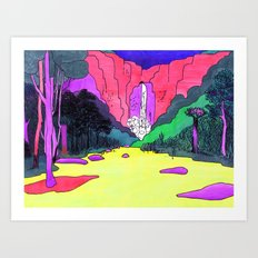 Waterfall #2 Art Print