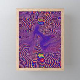Crzy Framed Mini Art Print