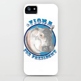 Fiona for President iPhone Case