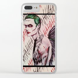 NEW The Angel Joker Clear iPhone Case