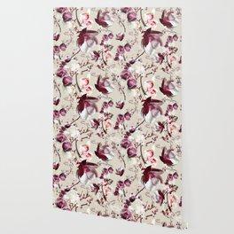 Magnolia cherry blossum Wallpaper