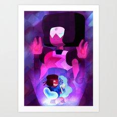Made of lo-o-ove Art Print