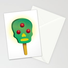 3rd ice cream Stationery Cards