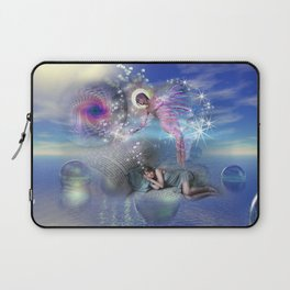 A novel can be a portal into parallel realities Laptop Sleeve