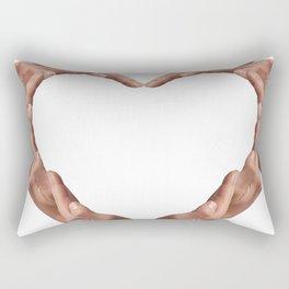 Heart shape Rectangular Pillow