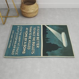 Vintage poster - Join the Army Rug