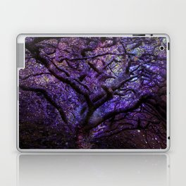 Mystic Tree of Knowledge Purple Laptop & iPad Skin
