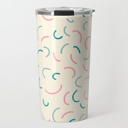 Sweet Abstract Pattern 1 Travel Mug