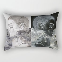 Dark Light Rectangular Pillow