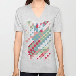 HIP triangles Unisex V-Neck