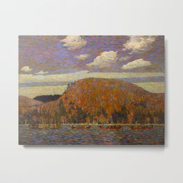 Tom Thomson The Pointers Canadian Landscape Artist Metal Print