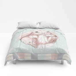 Some Bunny is Loved! Comforters