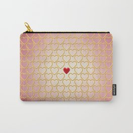 Valentine's day background Carry-All Pouch