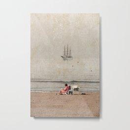 Sailing vessel Metal Print