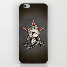 Up The Revolution! iPhone Skin
