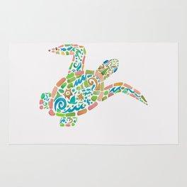 Surf Turtle Rug