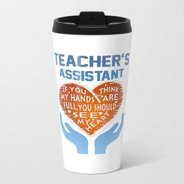 Teacher's Assistant Travel Mug
