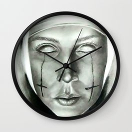 Evil Nun Wall Clock