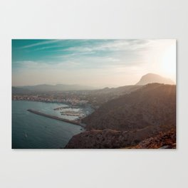 Summer in Spain Canvas Print