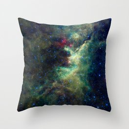 709. The Dark Heart of the King Throw Pillow