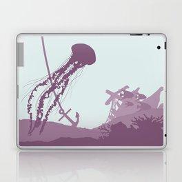 Jellyfish of the Reef Laptop & iPad Skin