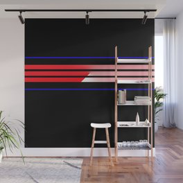 Team Colors 5...Red,blue Wall Mural