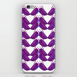 Luxury vint. mandalas pink on white iPhone Skin