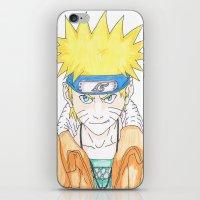 naruto iPhone & iPod Skins featuring Naruto Uzumaki by rosalia