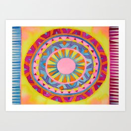 Katie's Carpet Art Print