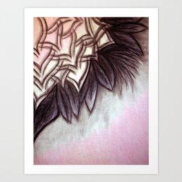Oil Pastels/Charcoal/Conte Crayon Art Print