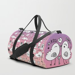 Love Doodles Duffle Bag
