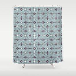 Geometrical patterns Shower Curtain