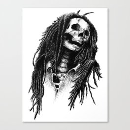 the Legend of Reggae Canvas Print