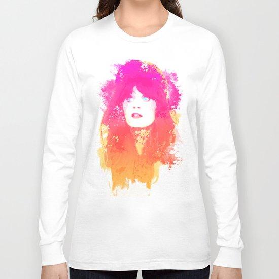 Zooey Deschanel Long Sleeve T-shirt