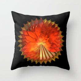 Autumn Leaves: Composition 2 Throw Pillow