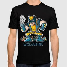 Wolverine LARGE Black Mens Fitted Tee