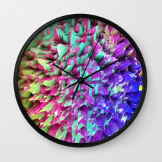 Land Sphere Wall Clock