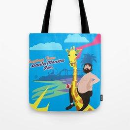Greetings from Santa Monica Pier Tote Bag
